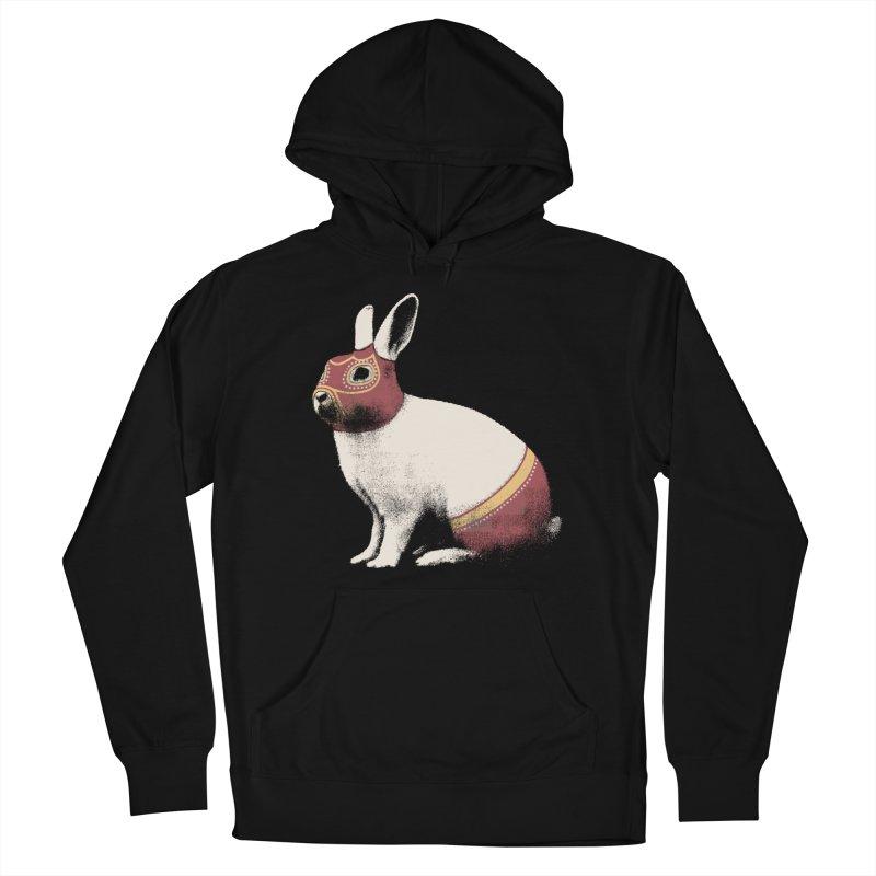 Rabbit Wrestler Women's Pullover Hoody by Speakerine / Florent Bodart