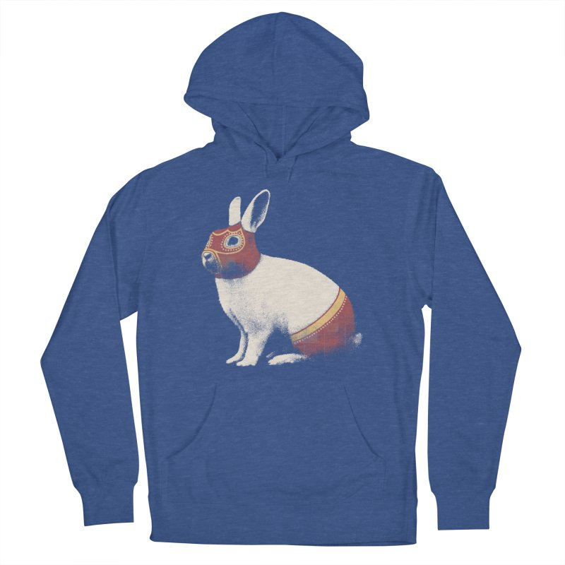 Rabbit Wrestler Women's Pullover Hoody by Speakerine / Florent Bodart