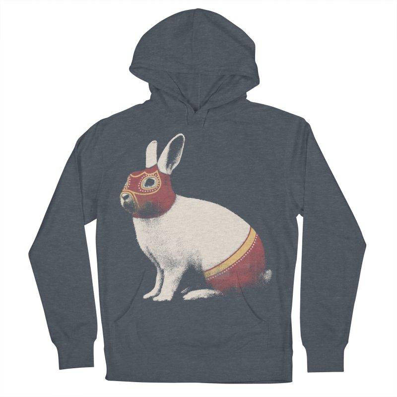 Rabbit Wrestler Men's Pullover Hoody by Speakerine / Florent Bodart