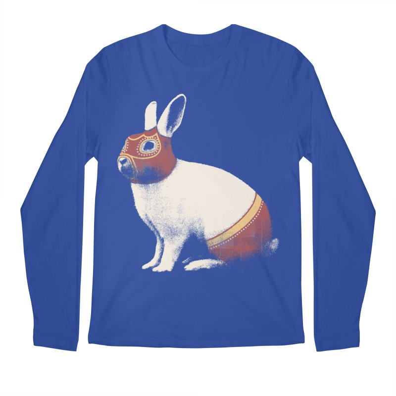 Rabbit Wrestler Men's Longsleeve T-Shirt by Speakerine / Florent Bodart