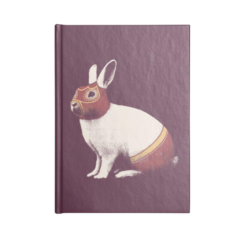 Rabbit Wrestler Accessories Notebook by Speakerine / Florent Bodart