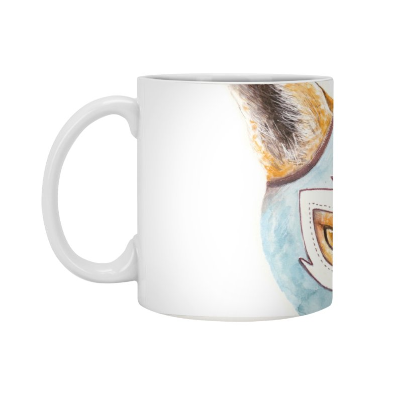 Andrew, the Fox Wrestler Accessories Standard Mug by Speakerine / Florent Bodart
