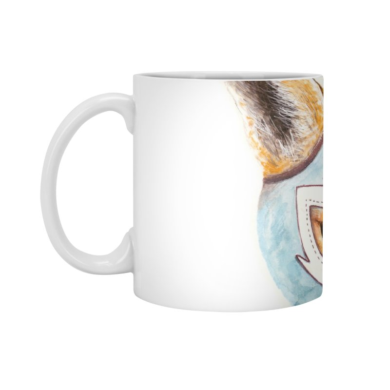Andrew, the Fox Wrestler Accessories Mug by Speakerine / Florent Bodart
