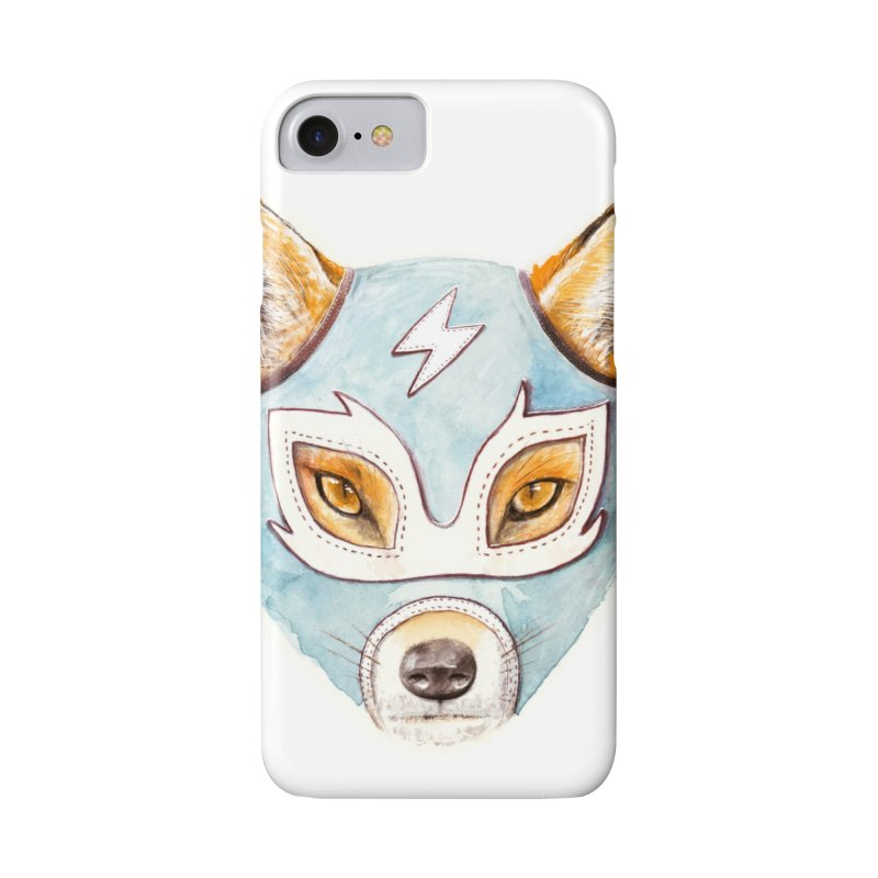 Andrew, the Fox Wrestler Accessories Phone Case by Speakerine / Florent Bodart