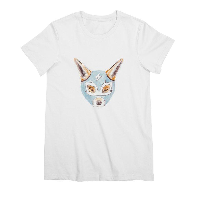 Andrew, the Fox Wrestler Women's T-Shirt by Speakerine / Florent Bodart