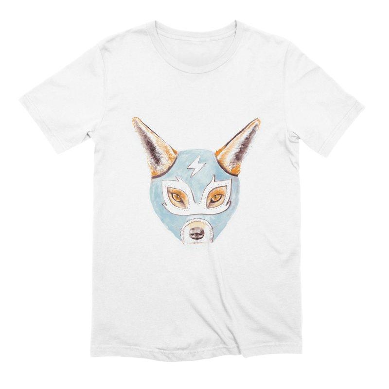 Andrew, the Fox Wrestler Men's Extra Soft T-Shirt by Speakerine / Florent Bodart