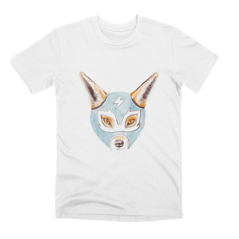 Andrew, the Fox Wrestler Men's Premium T-Shirt by Speakerine / Florent Bodart