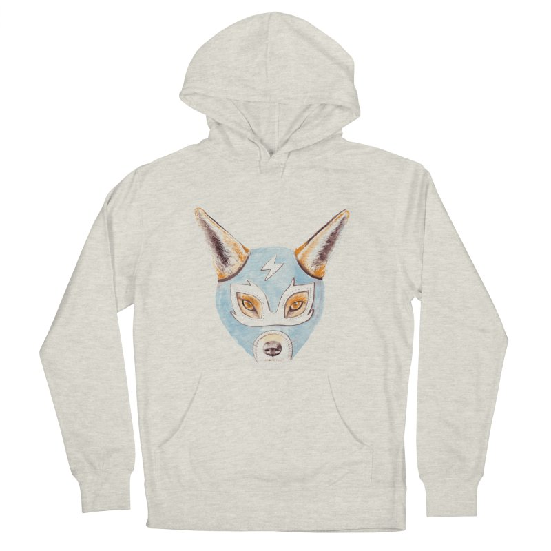 Andrew, the Fox Wrestler Women's Pullover Hoody by Speakerine / Florent Bodart