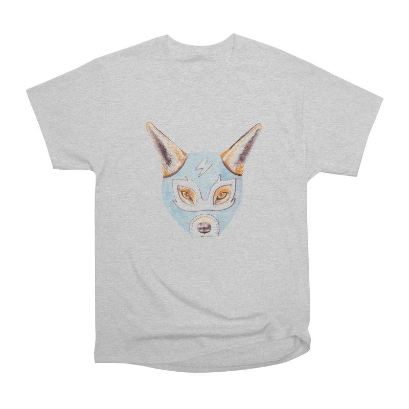 Andrew, the Fox Wrestler Women's Heavyweight Unisex T-Shirt by Speakerine / Florent Bodart