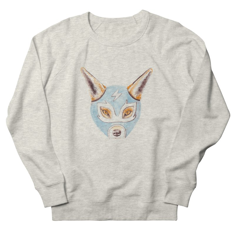 Andrew, the Fox Wrestler Men's French Terry Sweatshirt by Speakerine / Florent Bodart