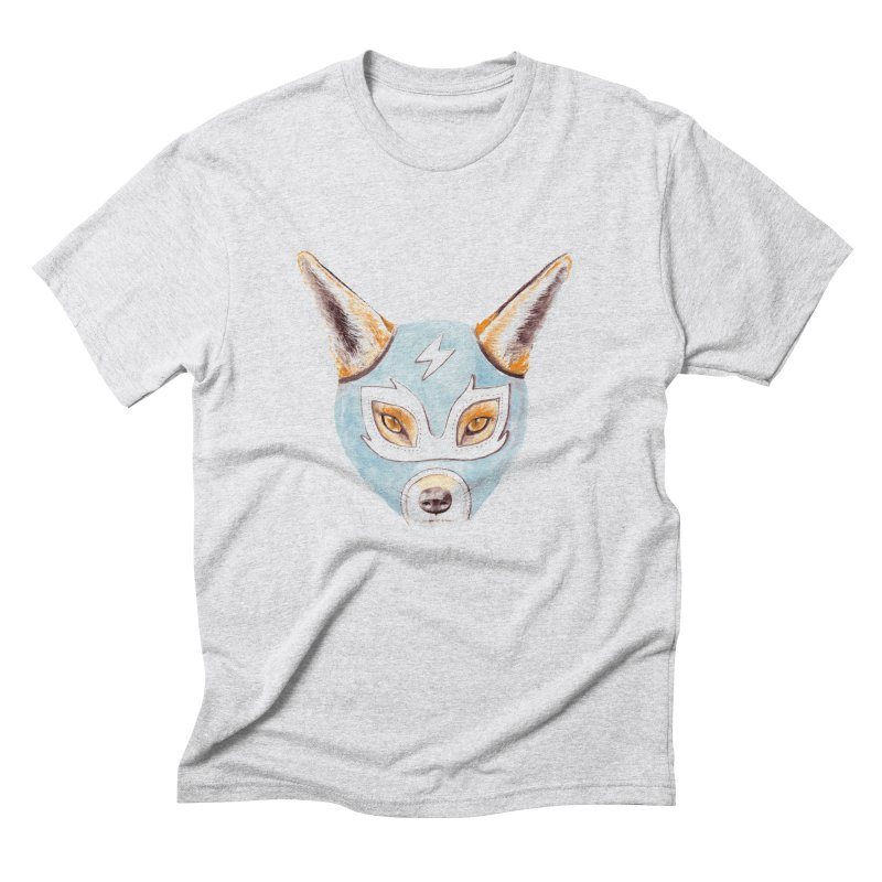 Andrew, the Fox Wrestler Men's Triblend T-Shirt by Speakerine / Florent Bodart