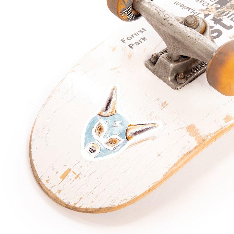 Andrew, the Fox Wrestler Accessories Sticker by Speakerine / Florent Bodart