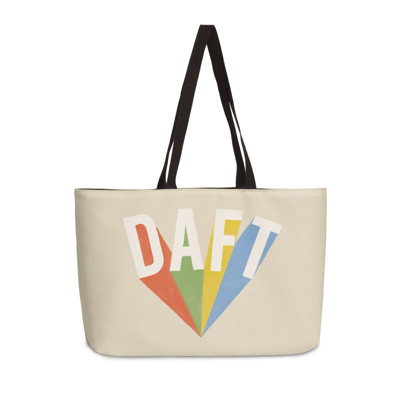 Daft Accessories Weekender Bag Bag by Speakerine / Florent Bodart