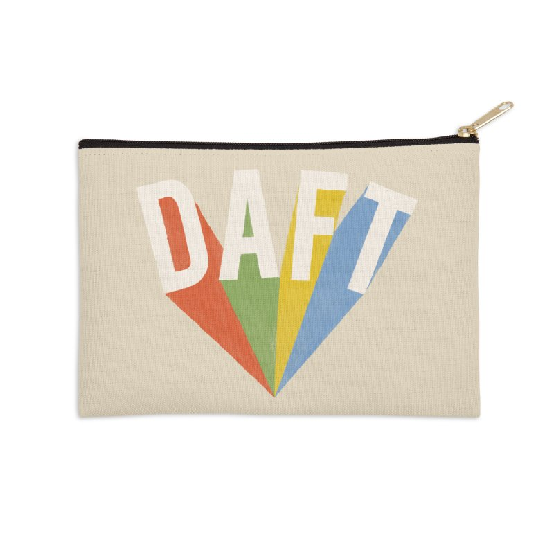 Daft Accessories Zip Pouch by Speakerine / Florent Bodart