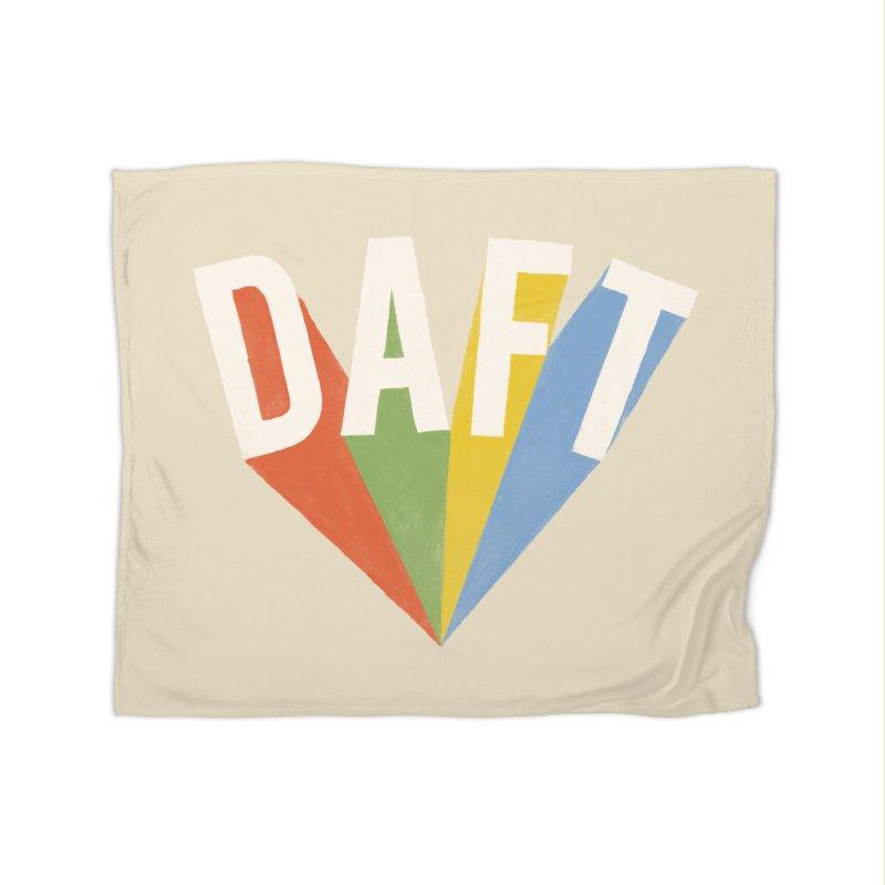 Daft Home Fleece Blanket Blanket by Speakerine / Florent Bodart