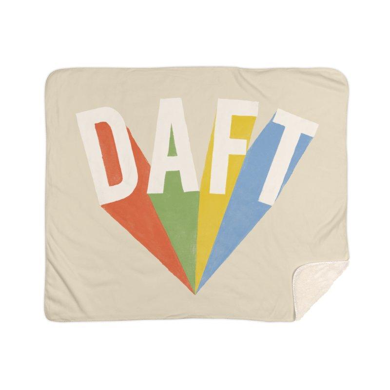 Daft Home Sherpa Blanket Blanket by Speakerine / Florent Bodart