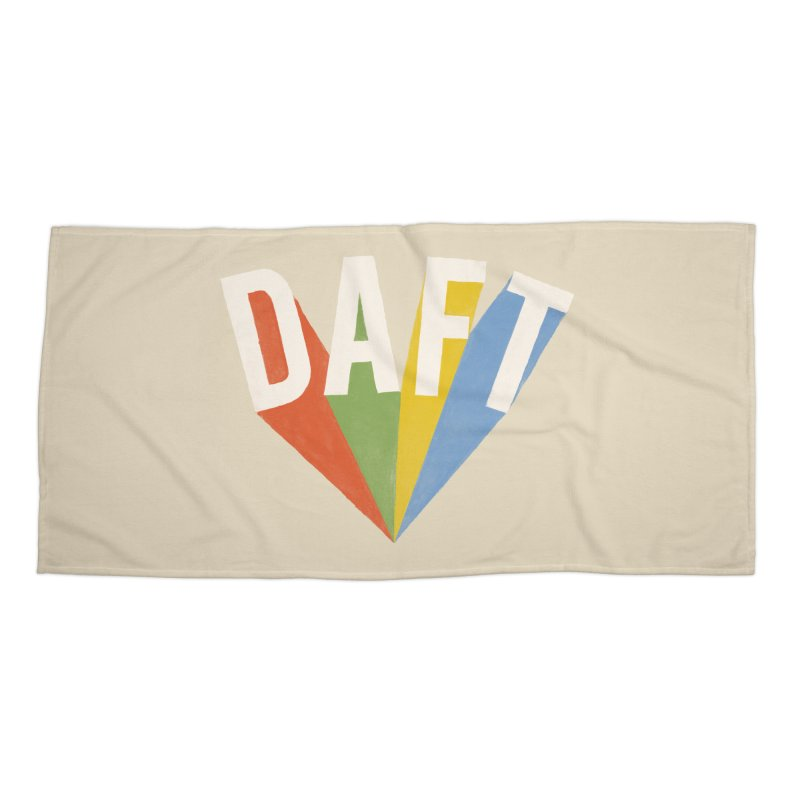 Daft Accessories Beach Towel by Speakerine / Florent Bodart