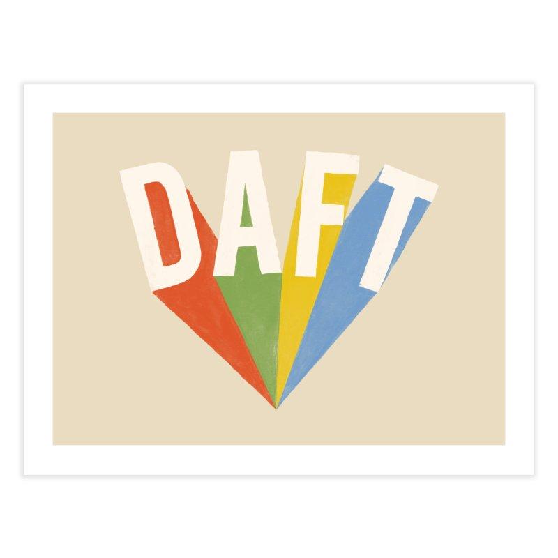 Daft Home Fine Art Print by Speakerine / Florent Bodart