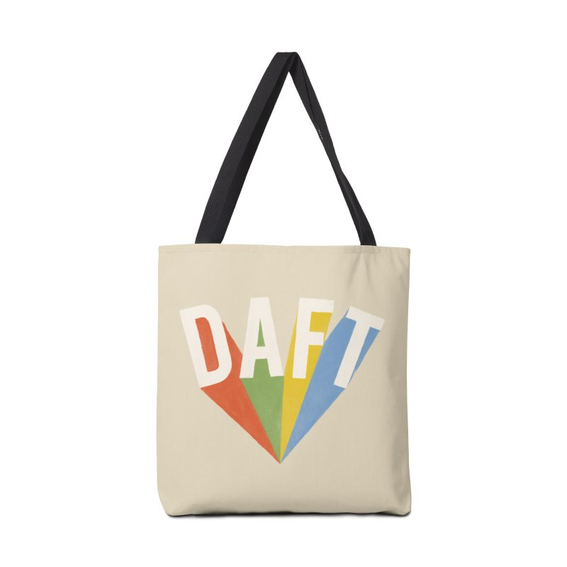 Daft Accessories Tote Bag Bag by Speakerine / Florent Bodart