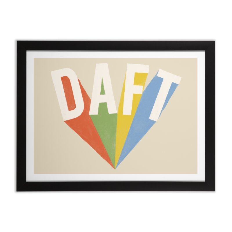 Daft Home Framed Fine Art Print by Speakerine / Florent Bodart