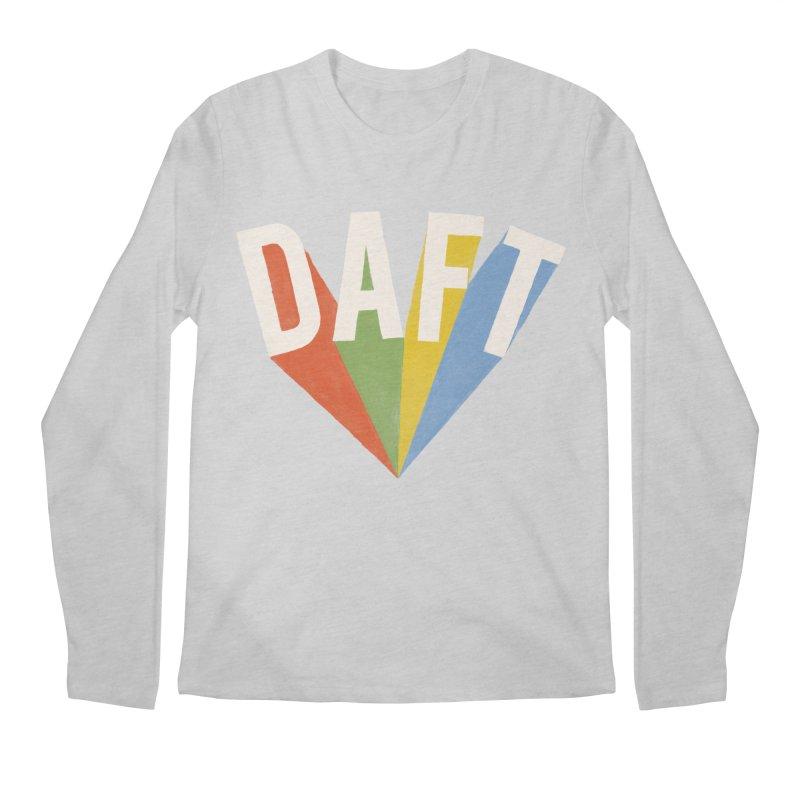 Daft Men's Regular Longsleeve T-Shirt by Speakerine / Florent Bodart