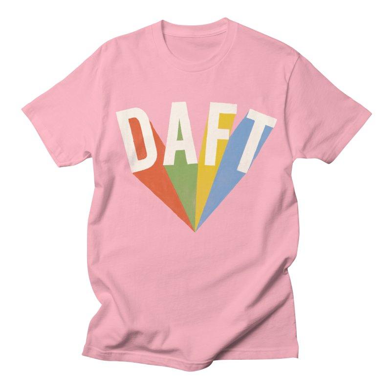 Daft Women's Regular Unisex T-Shirt by Speakerine / Florent Bodart