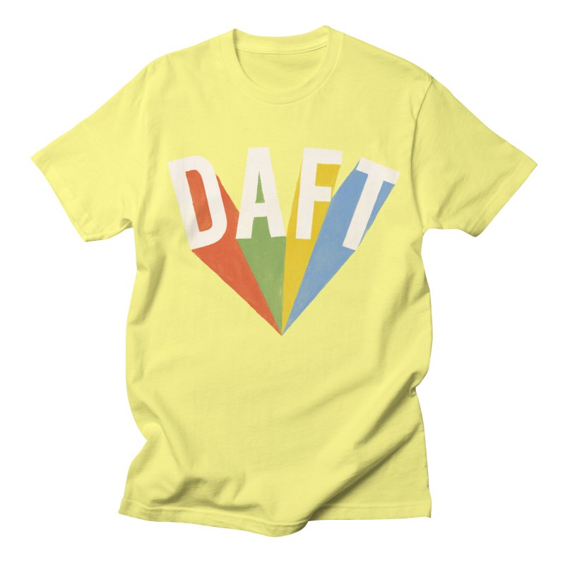 Daft Women's Unisex T-Shirt by Speakerine / Florent Bodart