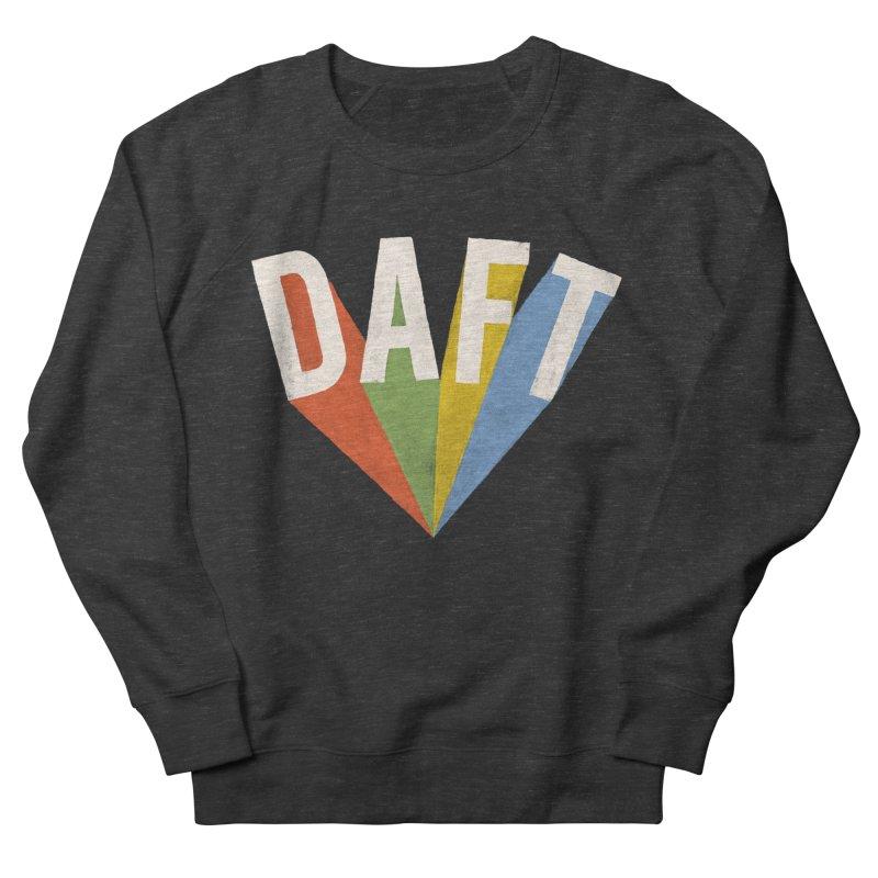 Daft Men's French Terry Sweatshirt by Speakerine / Florent Bodart