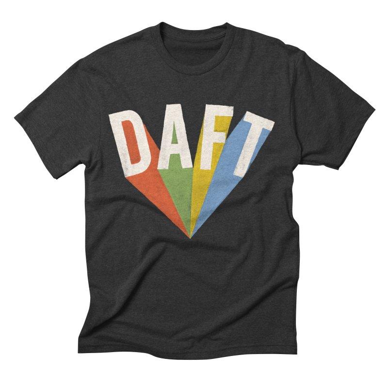 Daft Men's Triblend T-Shirt by Speakerine / Florent Bodart