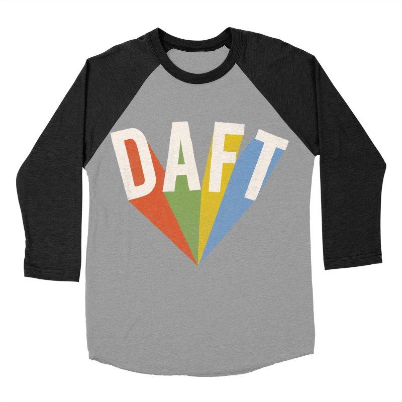 Daft Women's Baseball Triblend T-Shirt by Speakerine / Florent Bodart