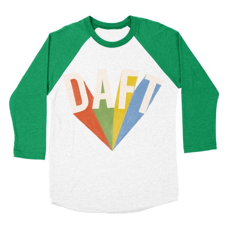Daft Men's Baseball Triblend Longsleeve T-Shirt by Speakerine / Florent Bodart