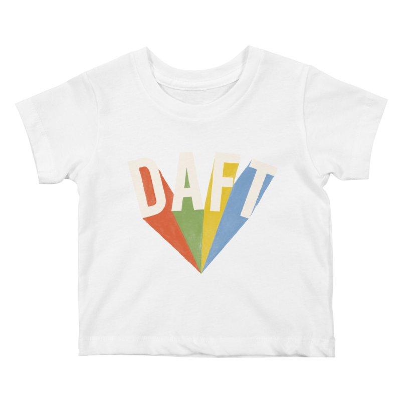 Daft Kids Baby T-Shirt by Speakerine / Florent Bodart
