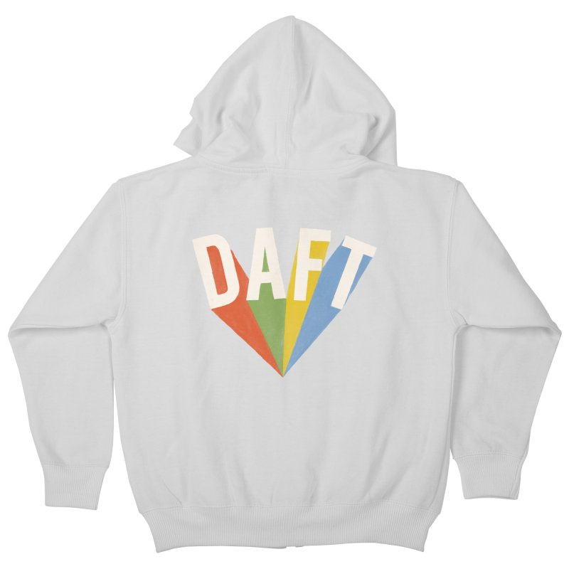 Daft Kids Zip-Up Hoody by Speakerine / Florent Bodart
