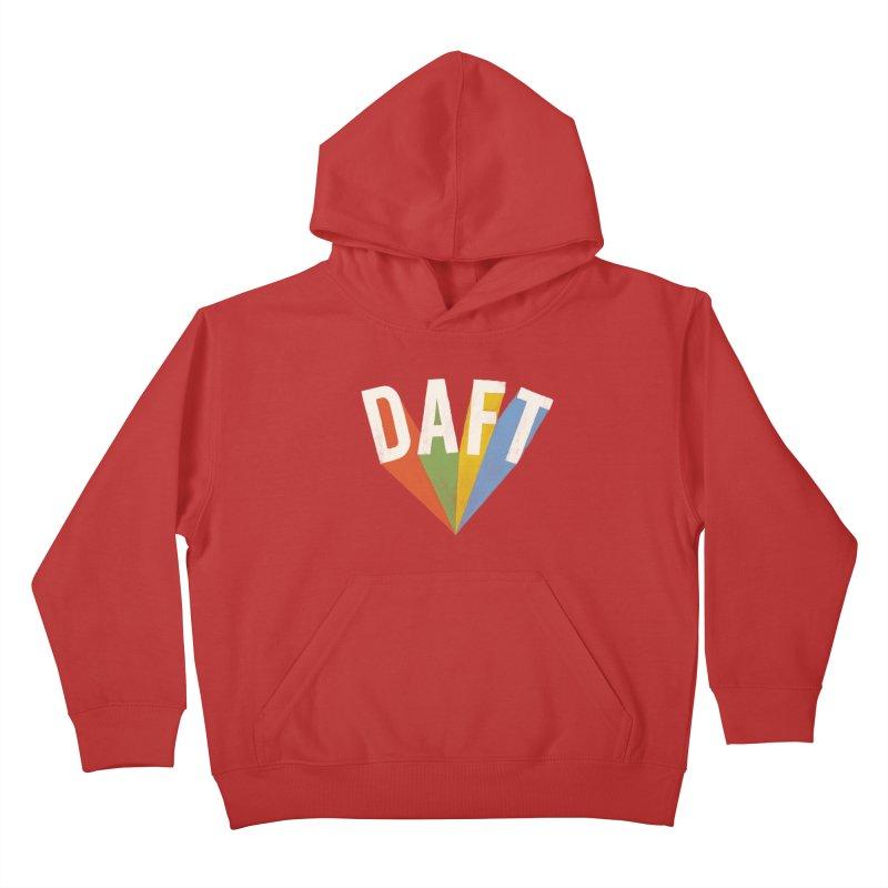 Daft Kids Pullover Hoody by Speakerine / Florent Bodart