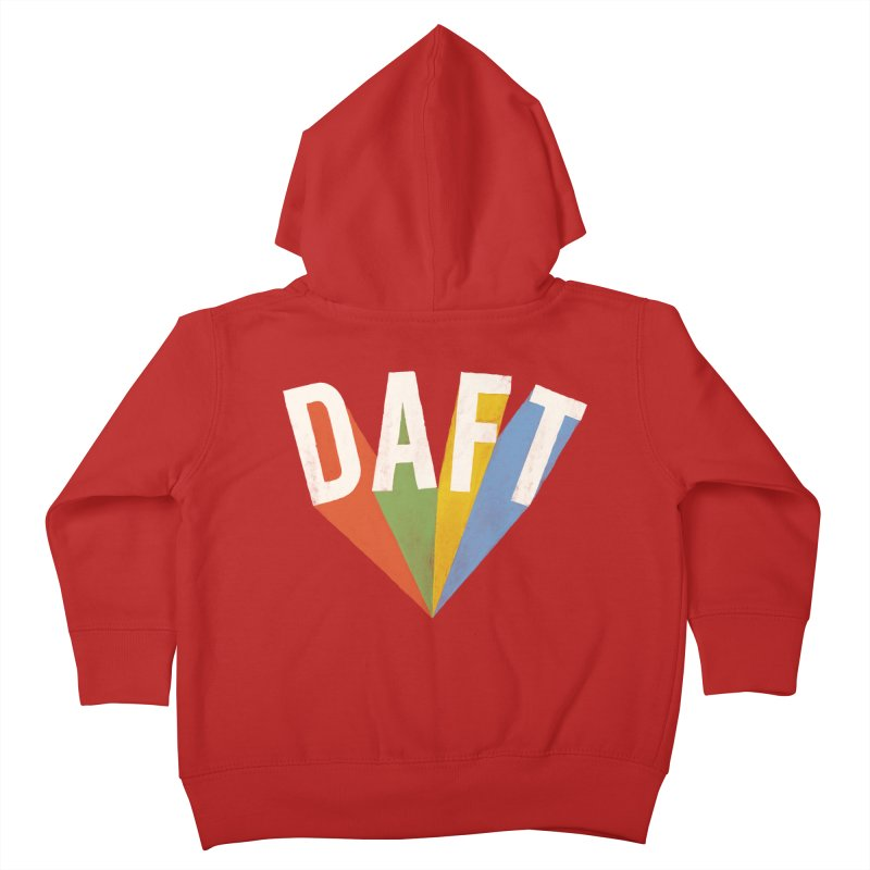 Daft Kids Toddler Zip-Up Hoody by Speakerine / Florent Bodart