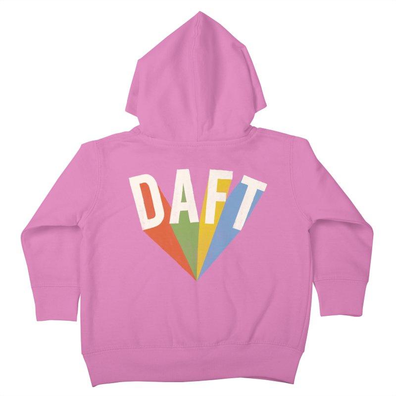 Daft Kids Toddler Zip-Up Hoody by Speakerine / Florent Bodart