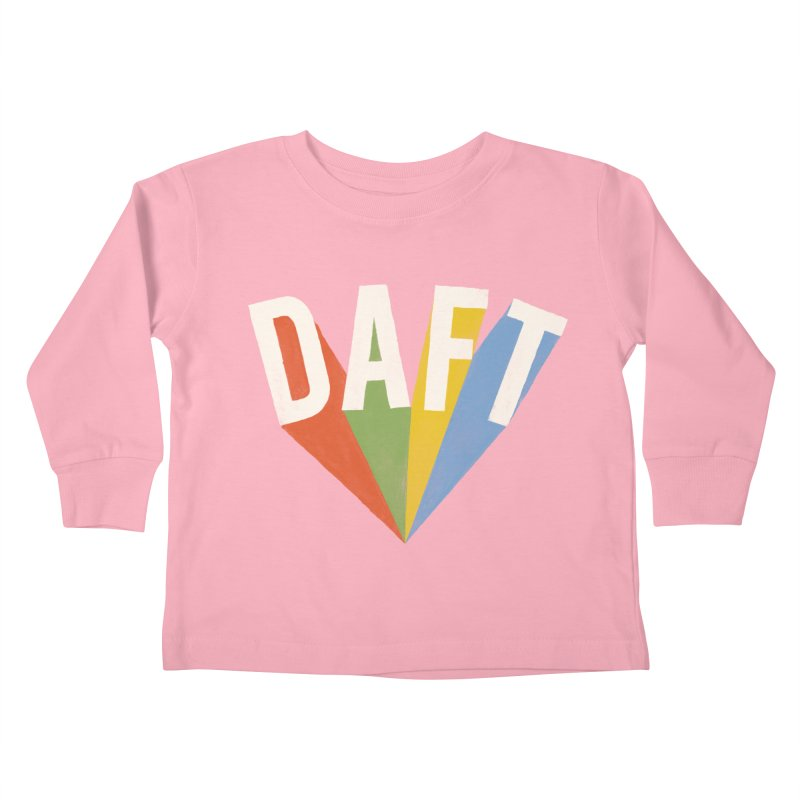 Daft Kids Toddler Longsleeve T-Shirt by Speakerine / Florent Bodart