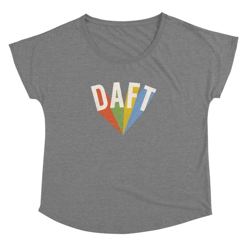 Daft Women's Scoop Neck by Speakerine / Florent Bodart