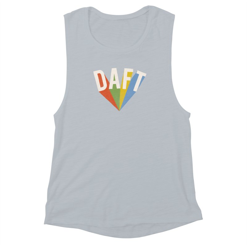 Daft Women's Muscle Tank by Speakerine / Florent Bodart