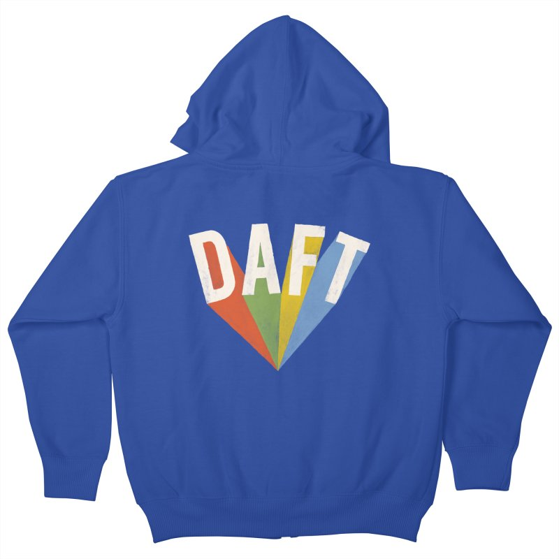 Daft Kids Zip-Up Hoody by Speakerine / Florent Bodart