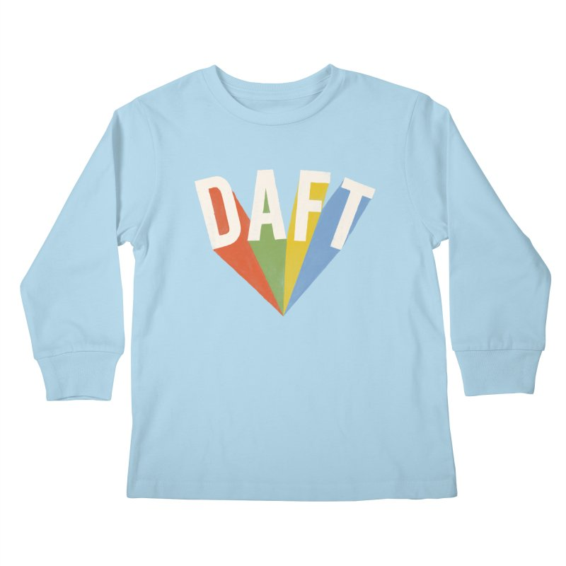 Daft Kids Longsleeve T-Shirt by Speakerine / Florent Bodart