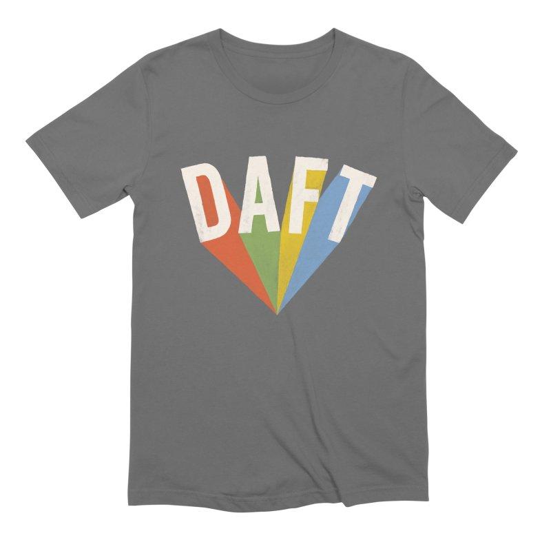 Daft Men's Extra Soft T-Shirt by Speakerine / Florent Bodart