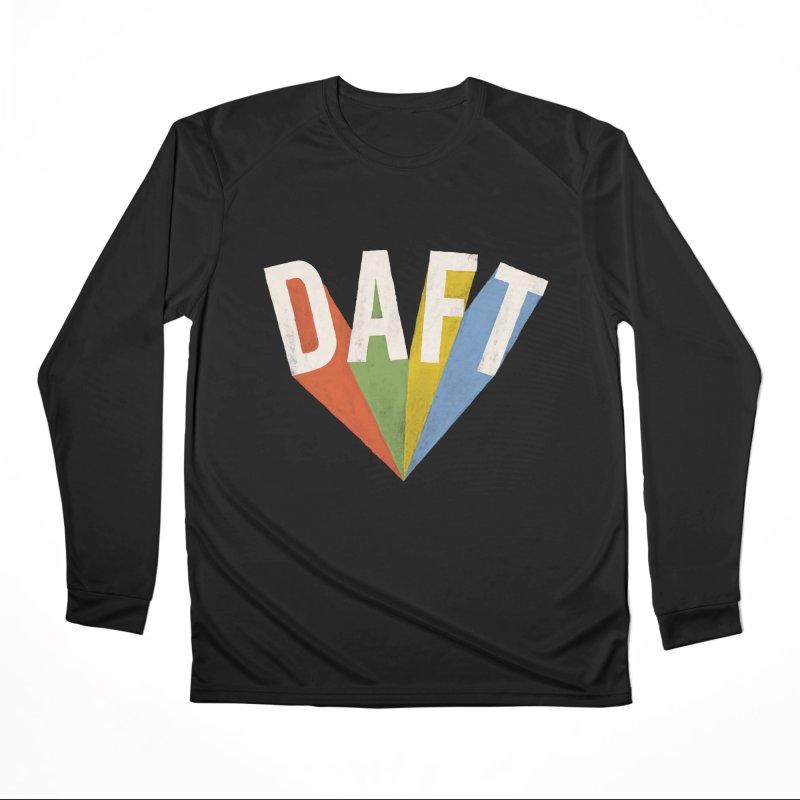 Daft Men's Performance Longsleeve T-Shirt by Speakerine / Florent Bodart