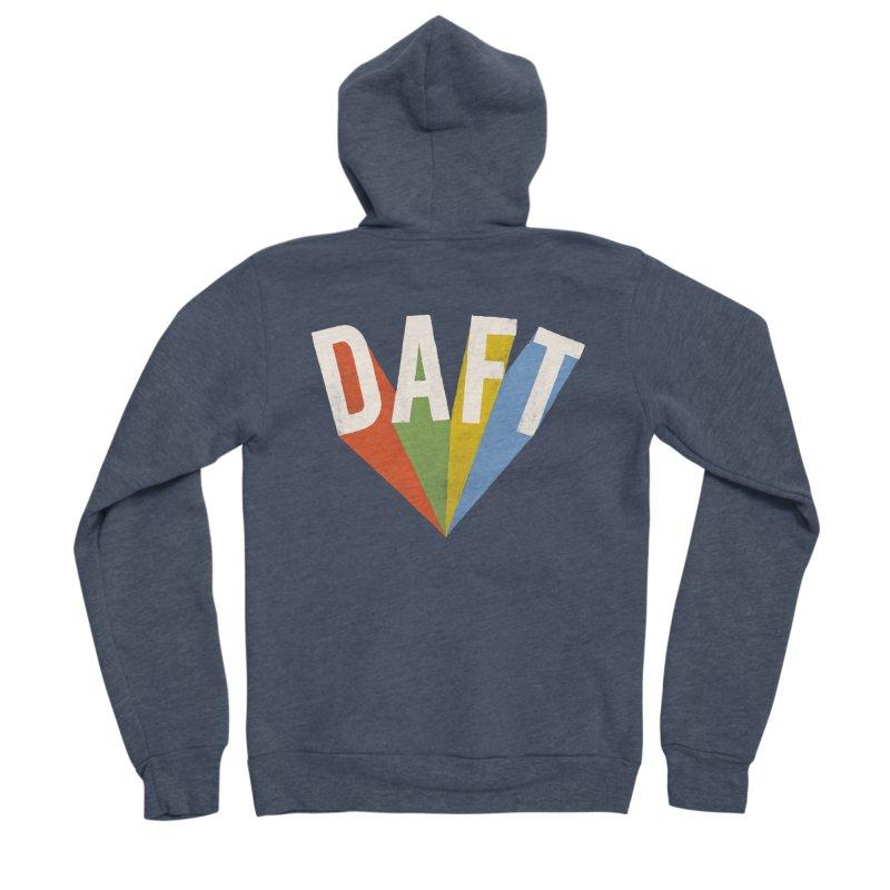 Daft Men's Sponge Fleece Zip-Up Hoody by Speakerine / Florent Bodart