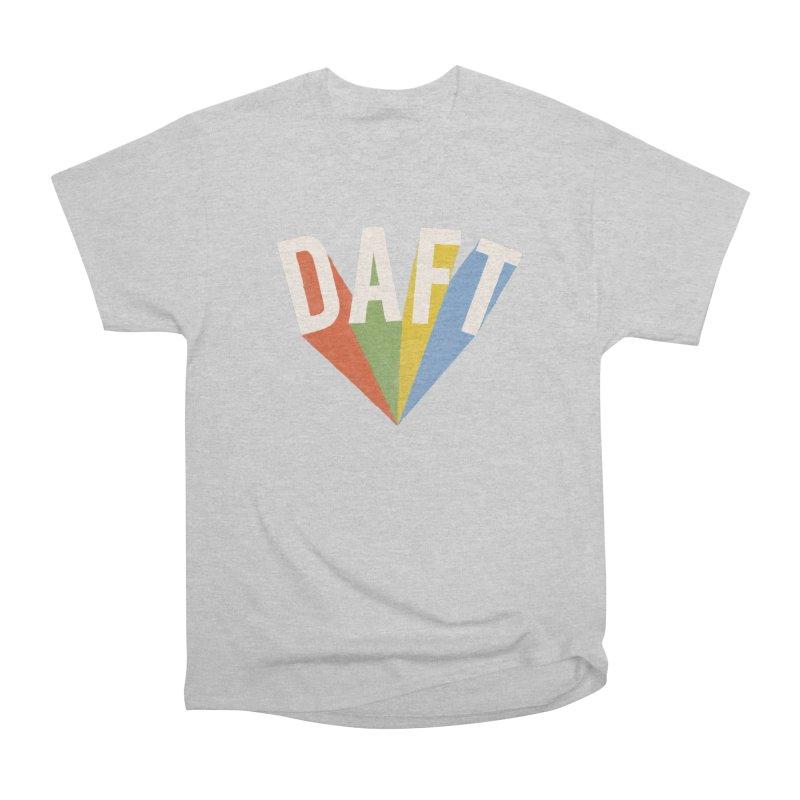 Daft Men's Heavyweight T-Shirt by Speakerine / Florent Bodart