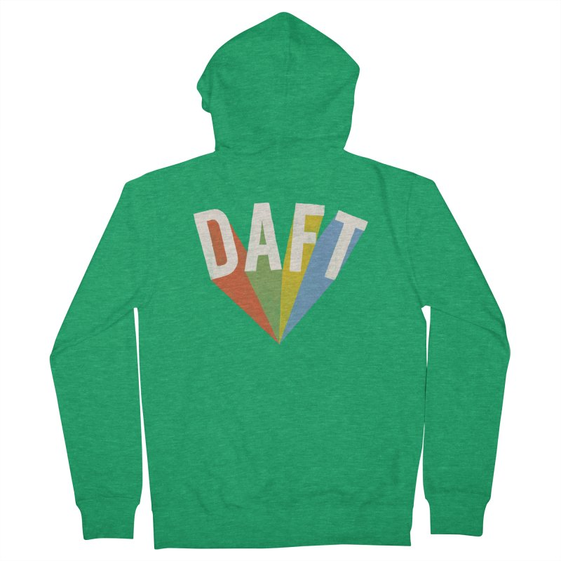 Daft Men's Zip-Up Hoody by Speakerine / Florent Bodart