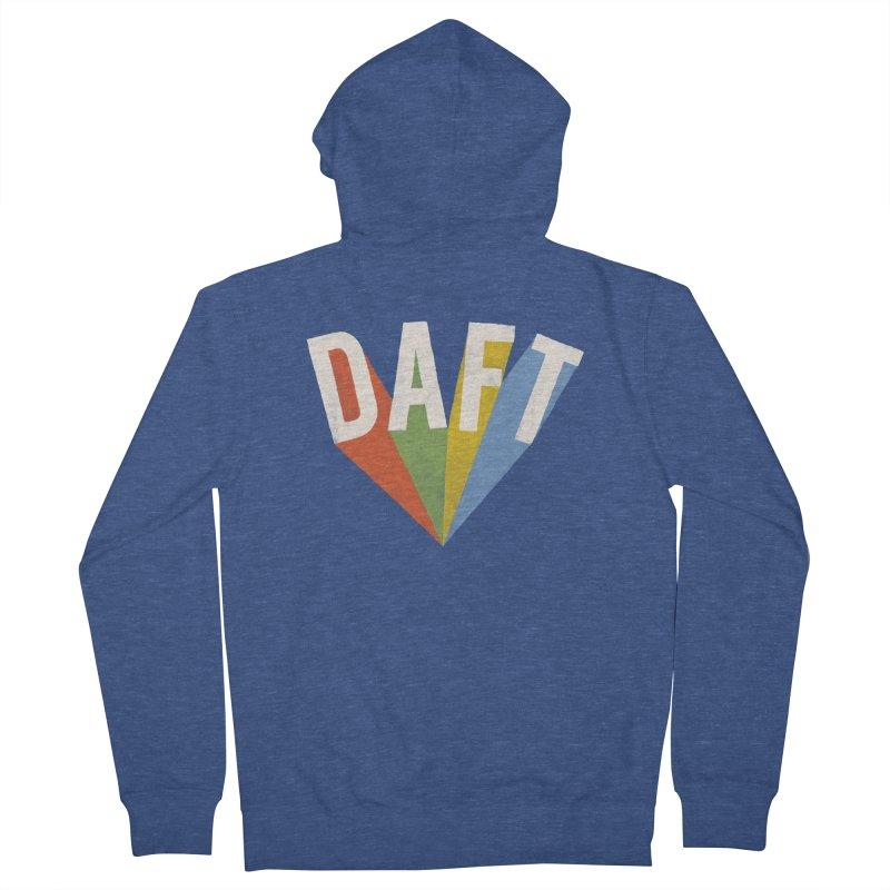 Daft Men's Zip-Up Hoody by Speakerine / Florent Bodart