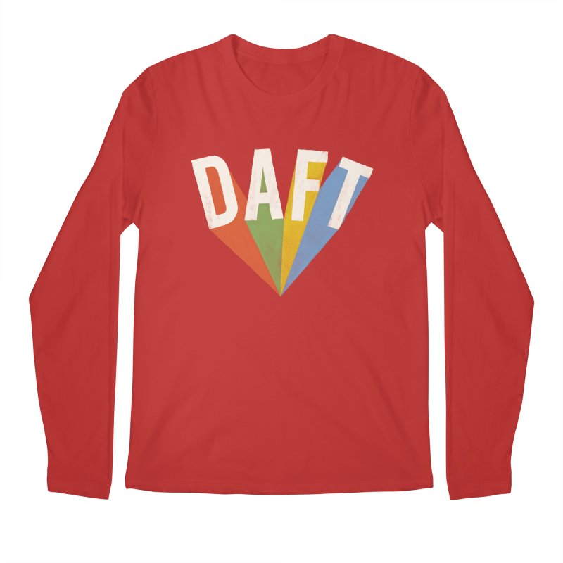 Daft Men's Longsleeve T-Shirt by Speakerine / Florent Bodart