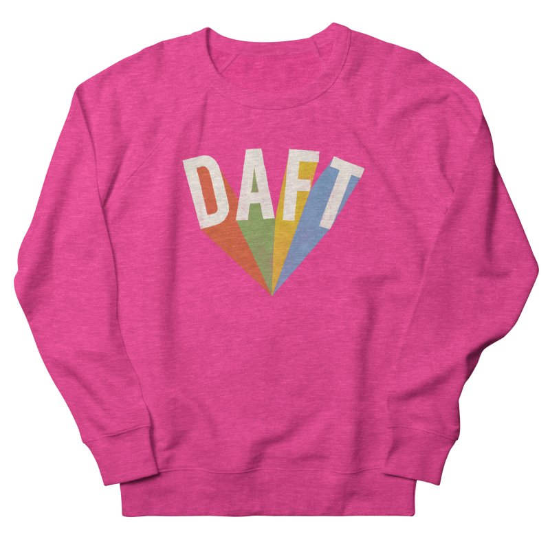 Daft Women's French Terry Sweatshirt by Speakerine / Florent Bodart