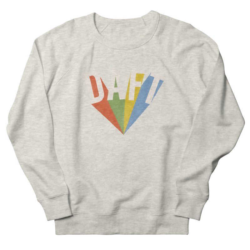 Daft Women's French Terry Sweatshirt by Speakerine / Florent Bodart